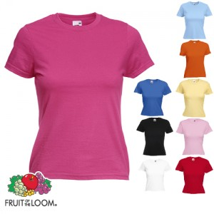 Fruit of the Loom Frauen-Shirts