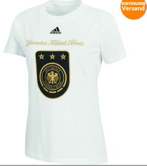 premium selection d8fea 996a1 Adidas DFB Trikot-Shirt 12,95 € zur Frauenfußball-WM 2011 ...