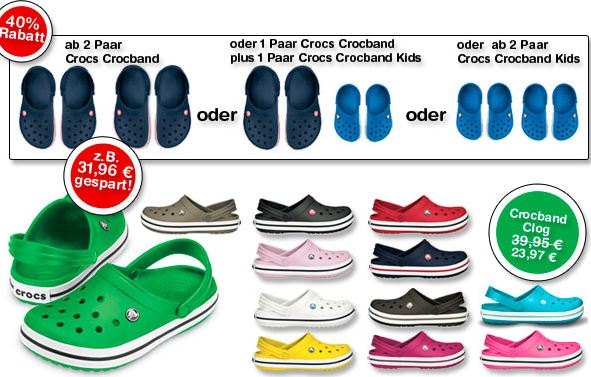 f489cdd793a082 Spart jetzt 40% beim Kauf von original Crocs Crocband Schuhen! Ob als  Hausschuhe