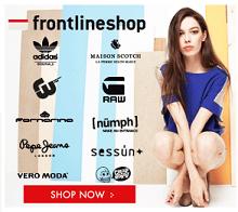 Frontlineshop Frauen Banner